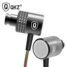 QKZ X3 HD Auricular del en-oído de Alta Fidelidad Auriculares Edición Especial Chapado En Oro Vivienda Conductores Dobles Con Aislamiento de Ruido de Alta Sensibilidad