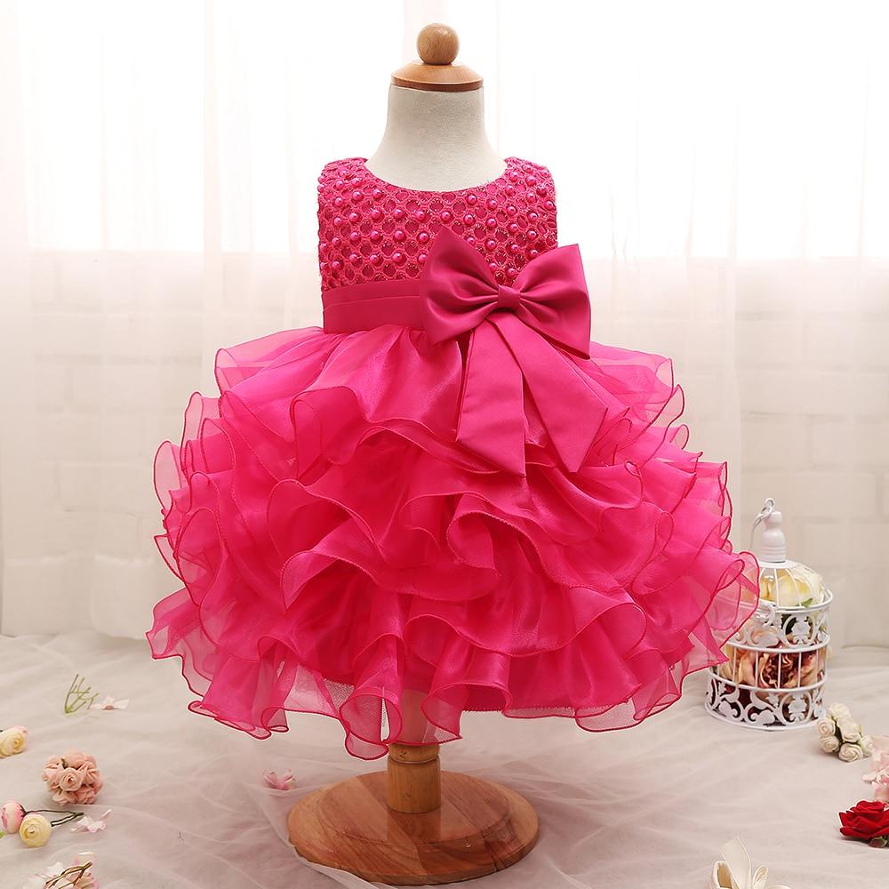 Baby Girls Newborn Dress For 1 Year Birthday Dress Infant -8865