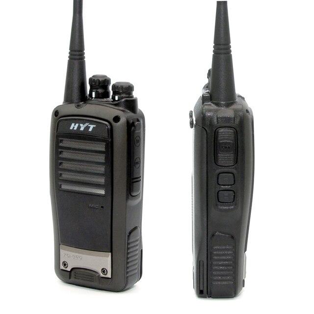 2 ユニット HYT TC 620 5 ワットポータブル双方向ラジオリチウムイオンバッテリー HYTERA TC620 UHF Vhf 長距離トランシーバートランシーバー