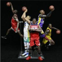 140550e3a8c334 NBA Michael Jordan Chicago BULLS Stephen Curry Kobe Wall Action Figure Toy  PVC 1 9