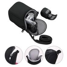 Mini Numérique Vidéo Caméra de Couverture De Sac pour Sony S8600 X100T X100S X30 X-A1 X-A2 X-M1 Micro Caméra Étui de protection Poche avec Sangle