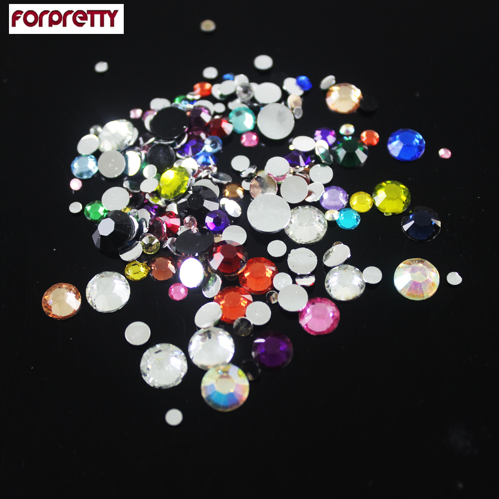 Nails 3d accessories rhinestones supplies jewelry for Acrylic nail decoration supplies
