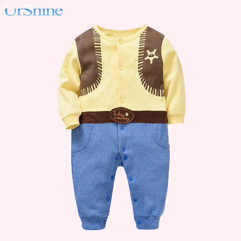 2018 Cutest Rompers Newborn Winter Baby Boy Cartoon Clothing Body Bebe Overall For Intants Recem Nascide Clothes New Arrival