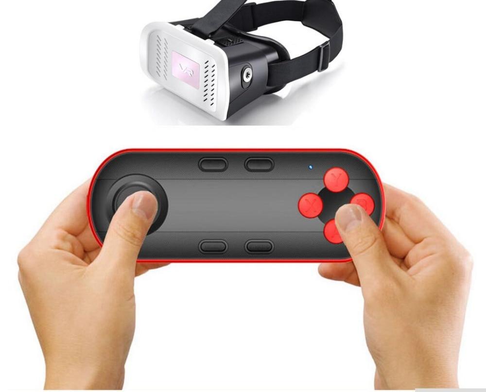 Wireless Bluetooth Gamepad VR Controller Joystick Selfie Shutter Remote Control for Phone PC TV box Smart