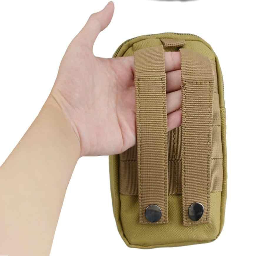 Водонепроницаемый Зеленый Тактический Молл Сумка Поясная Сумка на талию сумка Военная поясная сумка-карман для рюкзака JLY0802
