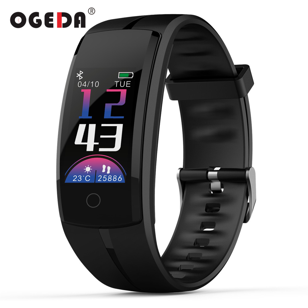 Smart Watch Women Smart Bracelet Intelligent Wristband Pedometer Heart Rate Message Reminder For IOS Android Phone Bluetooth 4.0