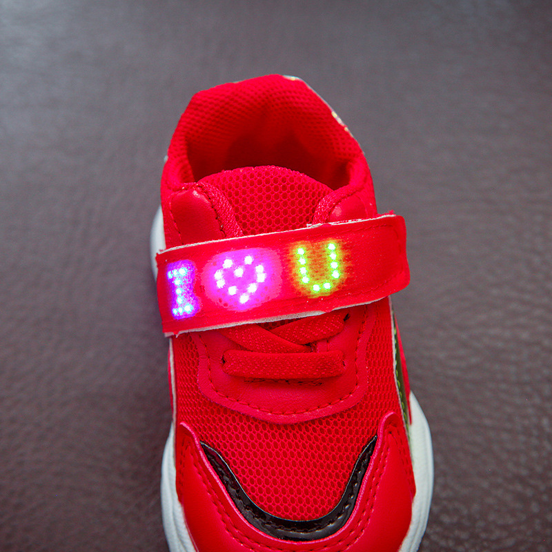 Children's Shoes Analytical Brand New Cute Breathable Kids Light Shoes High Quality Spring/autumn Baby Girls Boys Toddlers Fashion Led Children Sneakers Boys