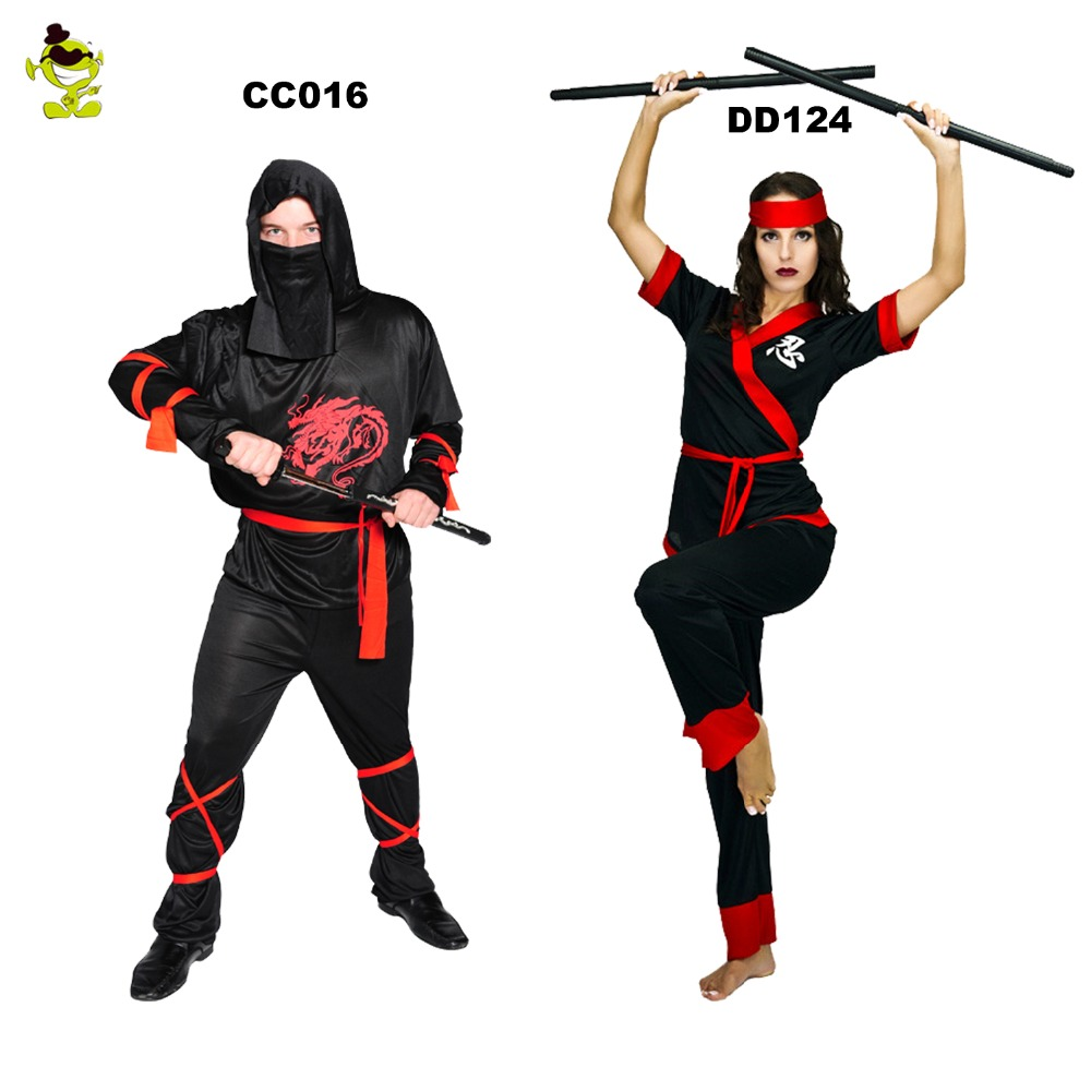 Comprar Clásico Japonés Ninja Disfraces Halloween Traje