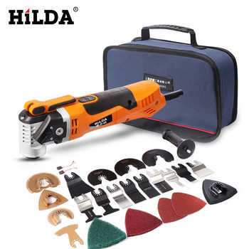 HILDA Oscillating Multi-Tools Renovator Tool Oscillating Trimmer Home Trimmer woodworking Tools Multi-Function Electric Saw - DISCOUNT ITEM  42% OFF All Category