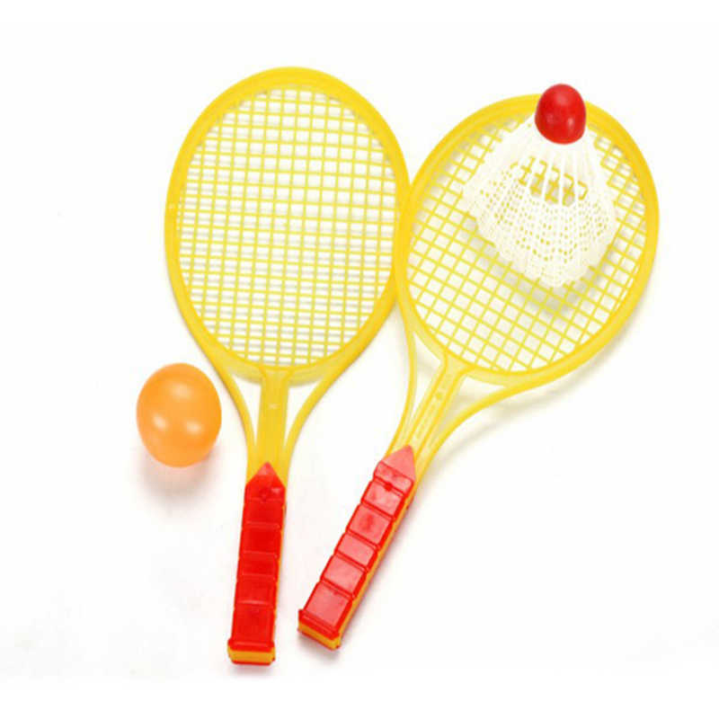 1pair Child Badminton Tennis Racket Baby Sports Bed Toy Educational Toy A!