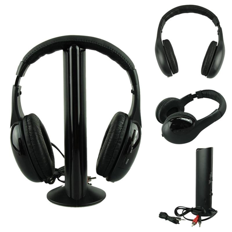 Best Price Headphones HOT 5IN1 Wireless Headphone Casque Audio Sans Fil Ecouteur Hi-Fi Radio FM TV MP3 MP4 top quality 35jan13