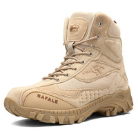 2019 Winter Military Boots Men Fashion Army Boots Men' s Tactical Desert Combat High Top Ankle Boots Men Outdoor Work Shoes Men