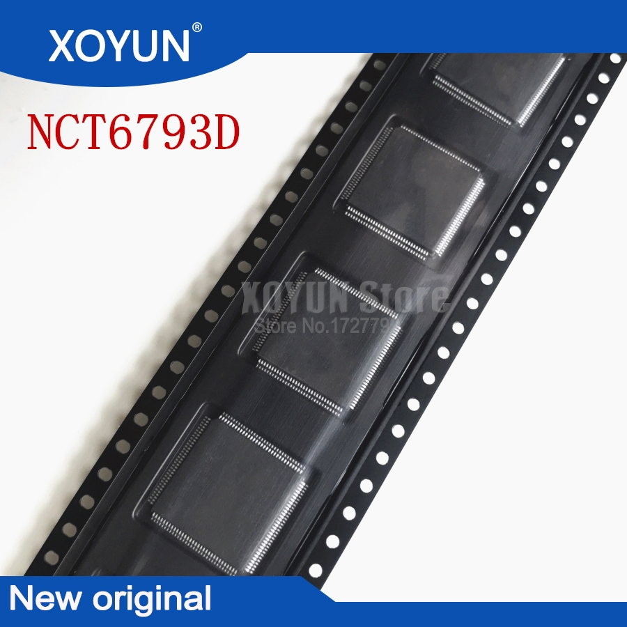 100%New NCT6793D QFP-128