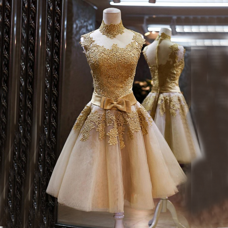 online buy wholesale gold cocktail dresses from china gold
