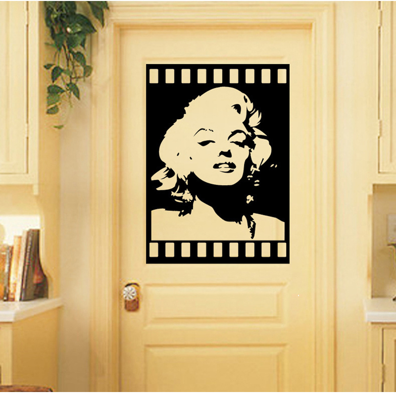 Online Buy Wholesale wall sticker marilyn monroe poster from China ...