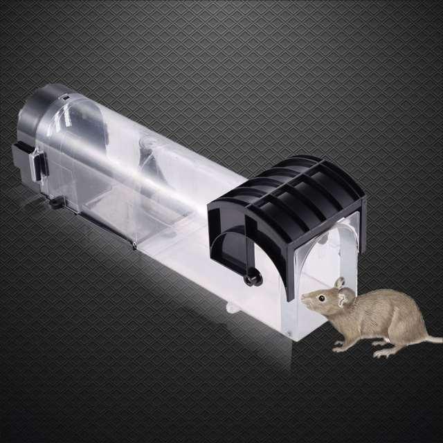 Us 12 77 24 Off Humane Smart Mouse Trap Maus Haus Live Fangen Release Keine Toten Mause Ratten Nagetiere Catcher Sicher Um Kinder Und Haustiere In