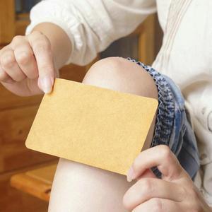Image 3 - 10 Pcs Ginger Sticker Collo Mal di Schiena Intonaco Patch Body Warmer Sticker Auto Riscaldamento Patch di Inverno Tenere Al Giunto Caldo per piede Al Ginocchio