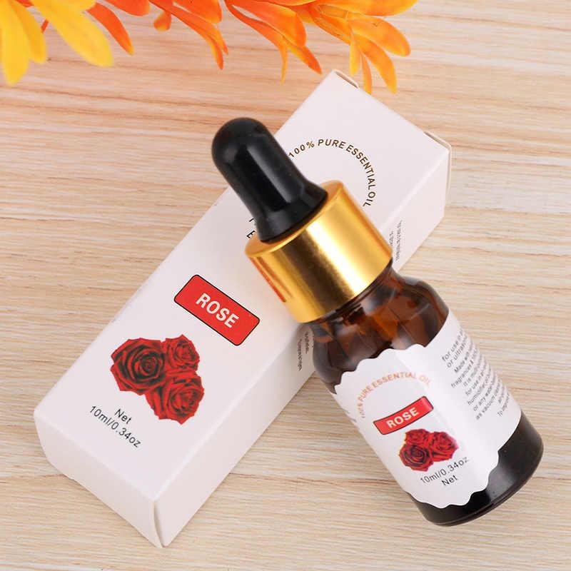 10ml ที่ละลายน้ำได้ดอกไม้ผลไม้สำหรับน้ำมันหอมระเหย Organic น้ำมันหอมระเหยร่างกายความเครียด Skin Care TSLM2