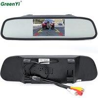 GreenYi HD 800*480 Auto-Spiegel-Monitor 5