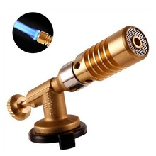 Gas Torch Flame Gun Blowtorch Copper Flame Butane Lighter Heating Welding For Outdoor Camping BBQ fire maple gas torch flame gun blowtorch cooking butane gas burner lighter heating welding gas burner flame 159g fms 706