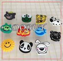 100 piece a lot Cute Vibration Dampeners Free shipping Tennis Dampeners/Vibration