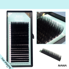 All size,1 case ,  J B C D curl,7~15mm MIX ,20rows/tray, mink eyelash extension,natural eyelashes,individual false eyelash