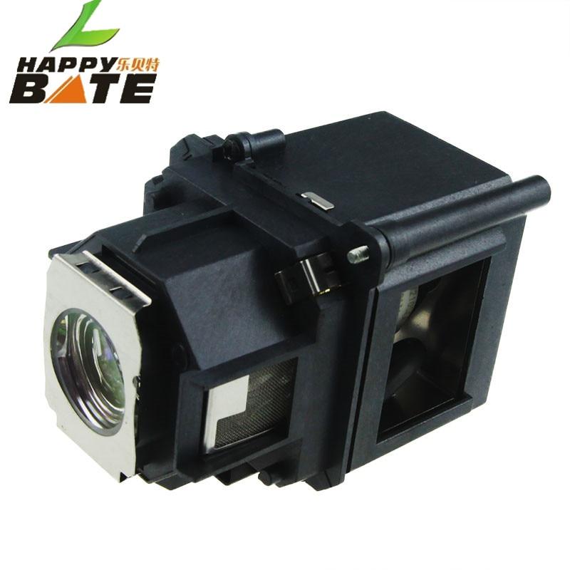 HAPPYBATE Lámpara de repuesto para proyector ELPLP47 / V13H010L47 - Audio y video casero