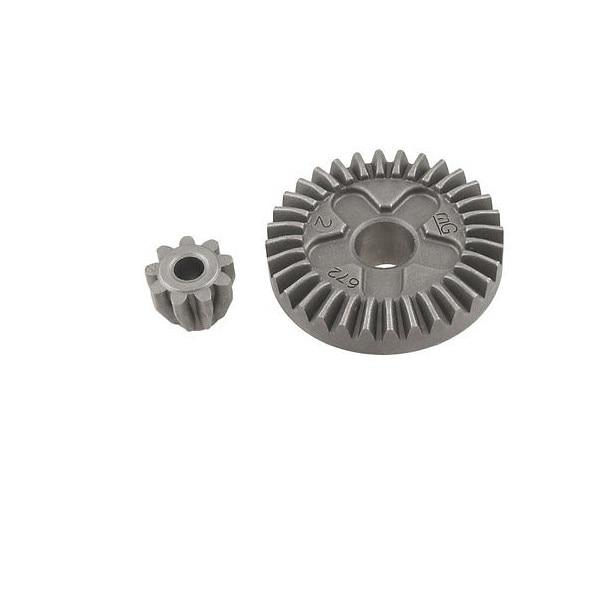 METAL SPIRAL Bevel Gear Set Pour Bosch GWS 6-100 Meuleuse d/'angle