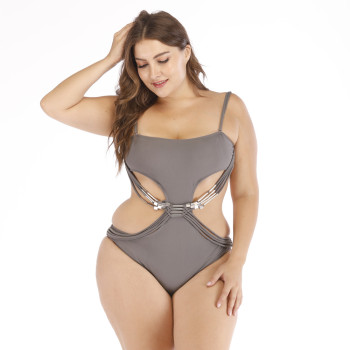 2019 Big Size Swimsuit Women One Piece Plus Size Swimwear One Piece Bathing Suits Large Size Swimsuits Beachwear