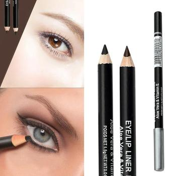 Fashion Professional Makeup Black Brown Eyeliner Eyebrow Pencil Waterproof Lasting Beauty Tool Accessories