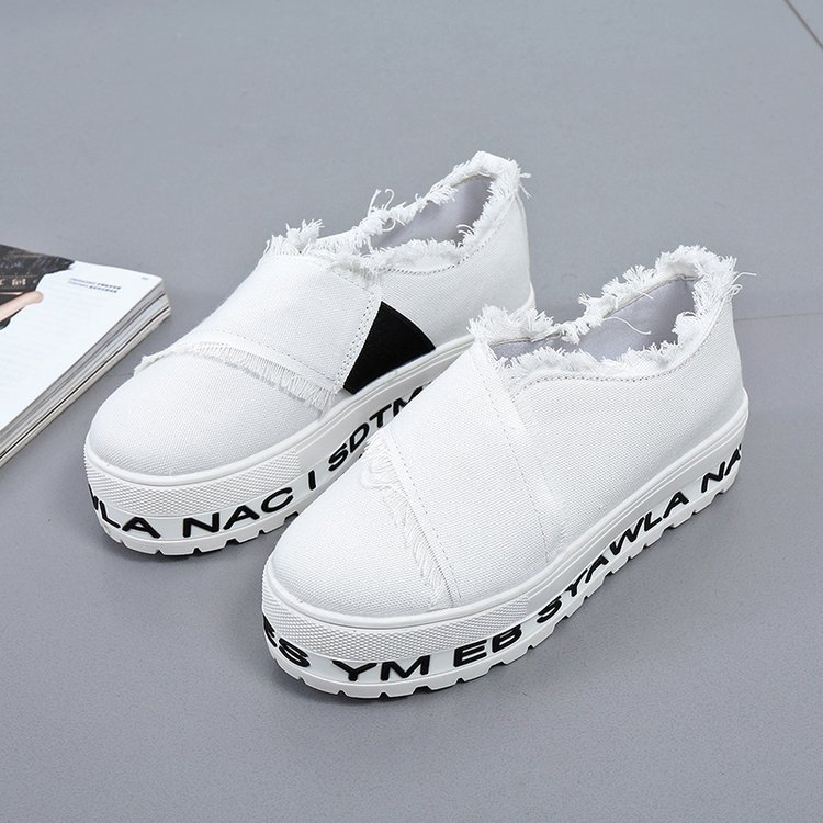 2018 Spring Summer New Leather Women Shoe Casual Leather Shoes For Women Flat Shoes White Ladies Lacing Loafers Zapatos Mujer instantarts women flats emoji face smile pattern summer air mesh beach flat shoes for youth girls mujer casual light sneakers
