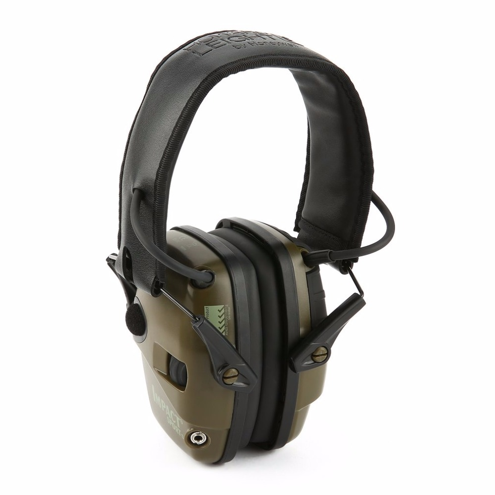 Outdoor Sports Anti-noise Impact Sound Amplification <font><b>Electronic</b></font> Shooting Earmuff Tactical Hunting Hearing Protective Headset