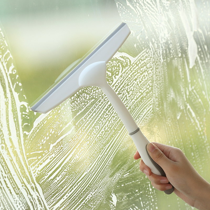 Durable Window Cleaner Mirror Car Windshield Squeegee Glass Wiper Silicone Blade Cleaning Shower Screen Window Cleaning Tools