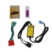 Car MP3 Player Radio Interface Cambiador de CD USB SD AUX IN Para Audi A2 A4 A6 S6 A8 S8