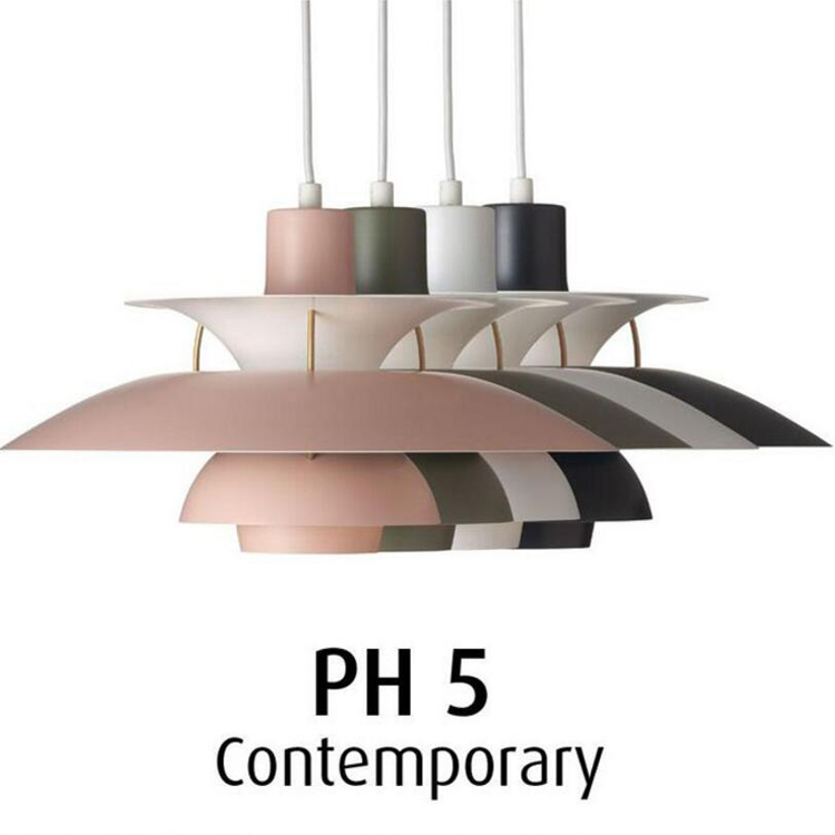 Painted Metal PH5 Led Pendant Light Colorful Dia50cm Umbrella Design Dining Room Bar Pendant LightPainted Metal PH5 Led Pendant Light Colorful Dia50cm Umbrella Design Dining Room Bar Pendant Light