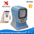 Mobile Barcode Scanner , e-ticket reader Paper QR code scanner USB reader 1D 2D Barcode Scanner ticket code reader scanner