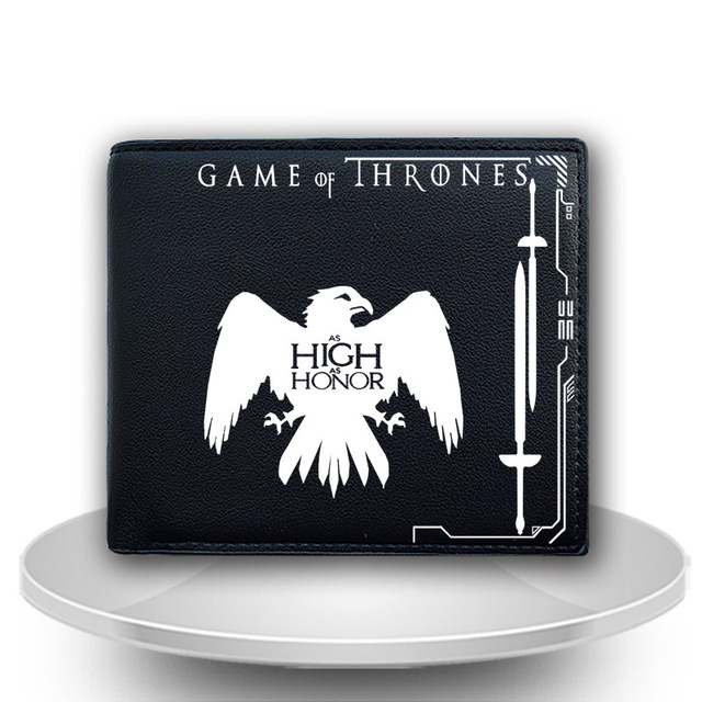 Unisex PU Leather Game of Thrones Wallet