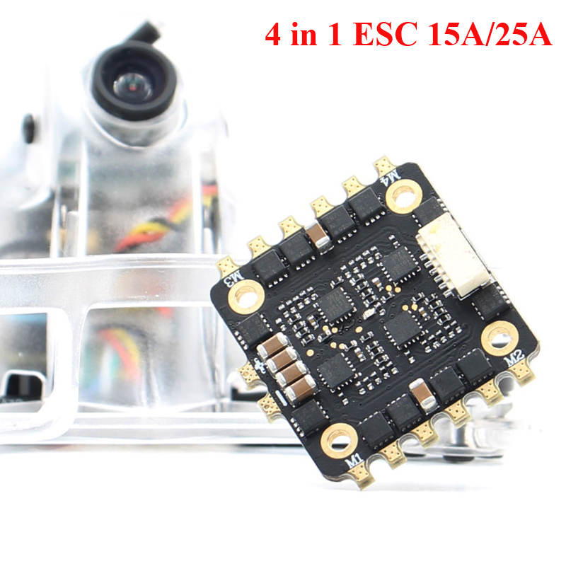 Skysars SPARKHOBBY 15A  25A BLheli_S A 2-4S 4in1 DShot600 20x20mm A Sin Escobillas ESC Para RC Drone FPV Racing