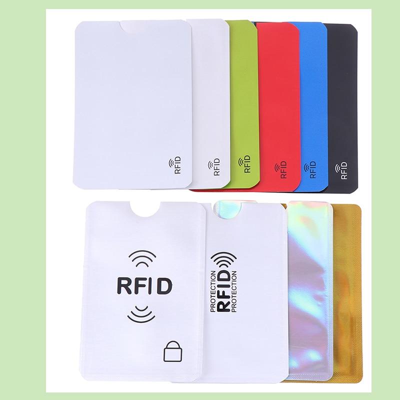 Credit//Card Passport RFID Protector Shield Holder Secure Case Blocking Sleeve