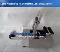 Factory Price 100 New Semi Automatic Labeling Machine Adhesive Sticker Labeling Machine Round Bottle Labeling Machine
