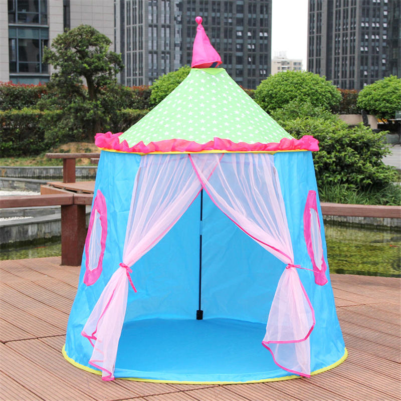 New Children's Tent Puzzle Cloth Room Folding Room Inner Mongolia Outdoor Princess Play House Tent outdoor puzzle folding mongolia bag game house tents