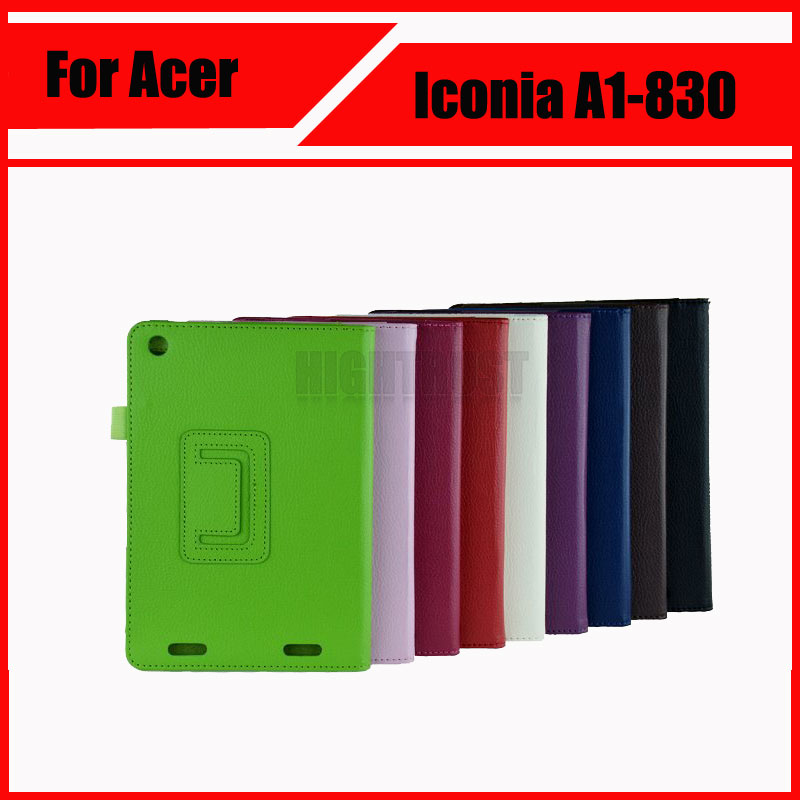 3 in 1 High quality ! Pu Leather Stand Tablet Cover Case For Acer Iconia A1 830 A1-830 + Screen Film + Stylus 1pc high quality pu leather russian driver s license cover for car driving documents the cover of the passport bih002 pr49