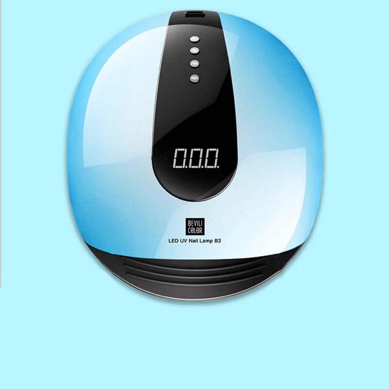 80W UV LED Lamp For Nails Dryer 10s/30s/60s/120s Timer LCD Display Infrared Sensing 36 Leds UV Lamp Nail Dryer Manicure Tool80W UV LED Lamp For Nails Dryer 10s/30s/60s/120s Timer LCD Display Infrared Sensing 36 Leds UV Lamp Nail Dryer Manicure Tool