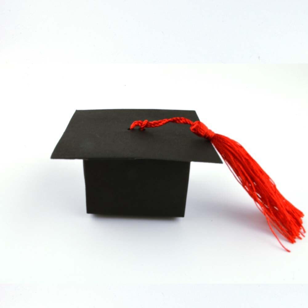 Box Boxes Cap Graduation W Candy 50 Party Gift Party Cap