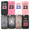 Moda Michael Jordan 23 Chicago duro plástico contraportada ultrafina para Apple iPhone 5 5S Air Jordan delgada piel caja del teléfono