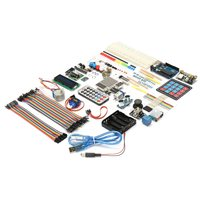 Hot Ultimate Learning Starter Kit For Arduino UNO R3 Processing Breadboard And Step Motor Servo 1602