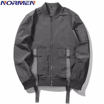NORMEN Men's Classic Bomber Jacket 2018 New Spring Retro Casual Tops Fashion Streetwear chaquetas hombre Thin Jackets Men