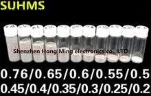 (25k) 0,2 мм/0,3 мм/0,35 мм/0,4 мм/0,45 мм/0,5 мм/0,55 мм/0,6 мм/0,65 мм/0,76 мм/мм свинцовые Паяльные шарики BGA, Паяльные шарики