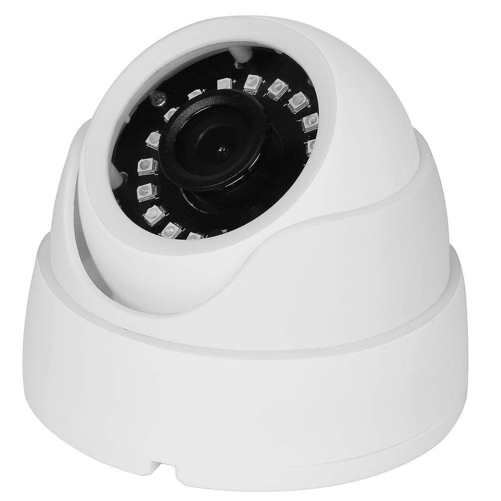 1080P 2MP 2.8mm Lens Indoor Dome IP Camera HI3518E 15fps Surveillance Camera ONVIF Motion Detection Email Alert XMeye