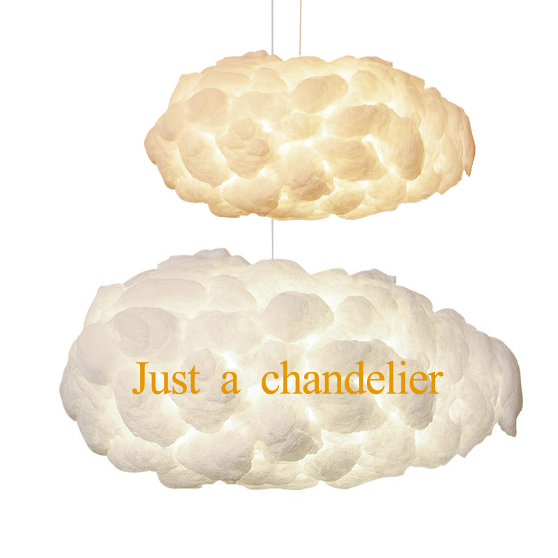 AC110-220V E27 Cloud chandeliers modern Creative Romantic White Silk Cotton lamp LED Light Floating Light Living room Bedroom ultra mini screen free 3 0 mega pixels cmos motion detection video camera micro sd tf slot